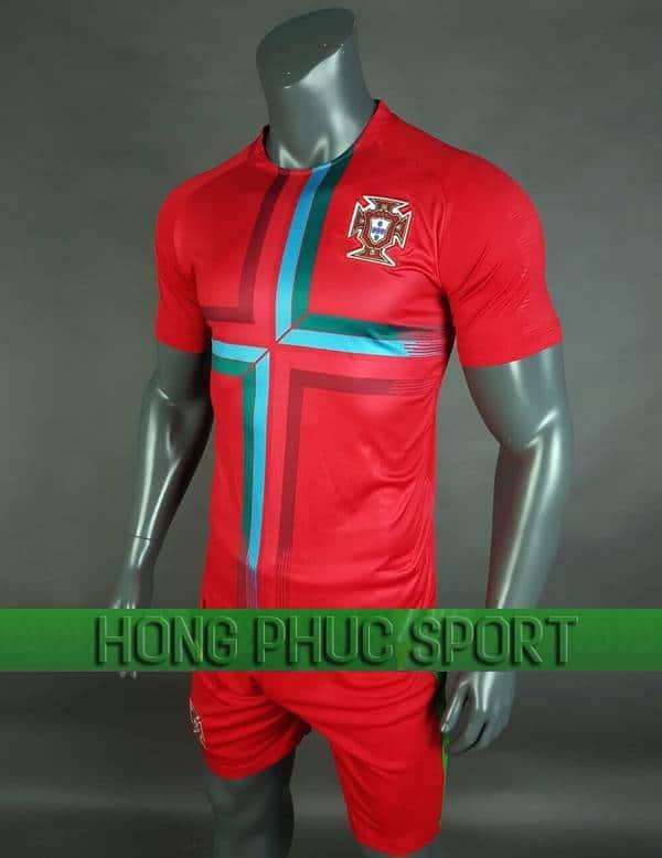 Bộ quần áo Bồ Đào Nha World Cup 2018 mầu đỏ