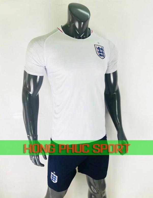 Bộ áo tuyển Anh World Cup 2018 sân nhà màu trắng