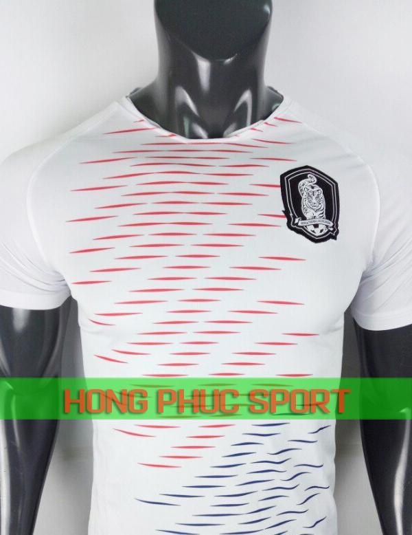 Áo tuyển Hàn Quốc sân khách World Cup 2018 màu trắng