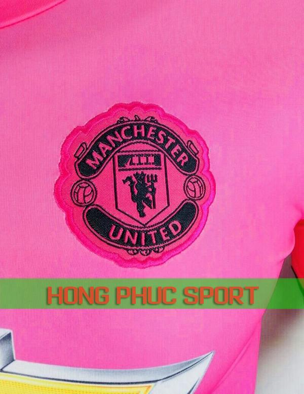 Logo áo đấu Man United sân khách 2018 2019