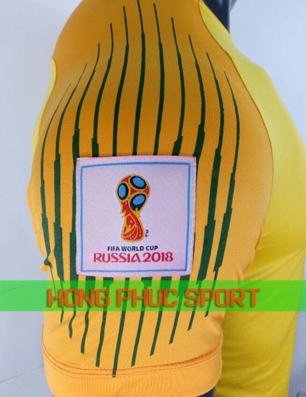 Tay áo thủ môn tuyển Pháp World Cup 2018 màu vàng