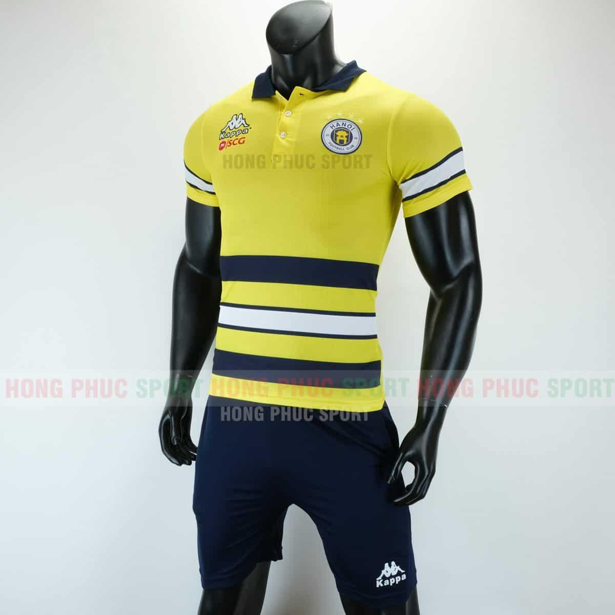 Áo thi đấu di chuyển CLB Hà Nội 2019 2020 màu vàng