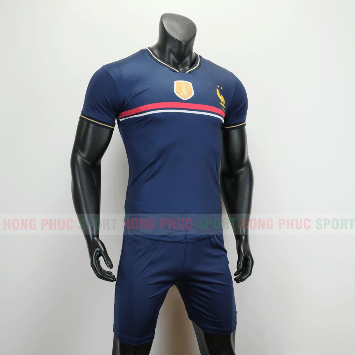 Áo bóng đá đội tuyển quốc gia Pháp 2019 màu tím than
