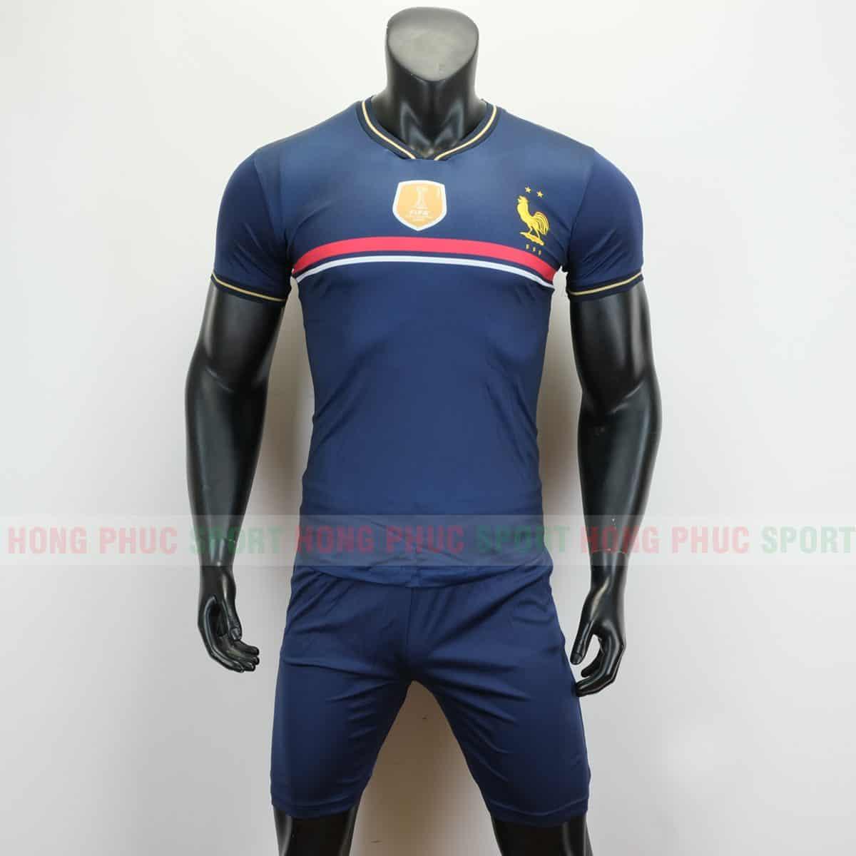 Áo thi đấu đội tuyển quốc gia Pháp 2019 màu tím than