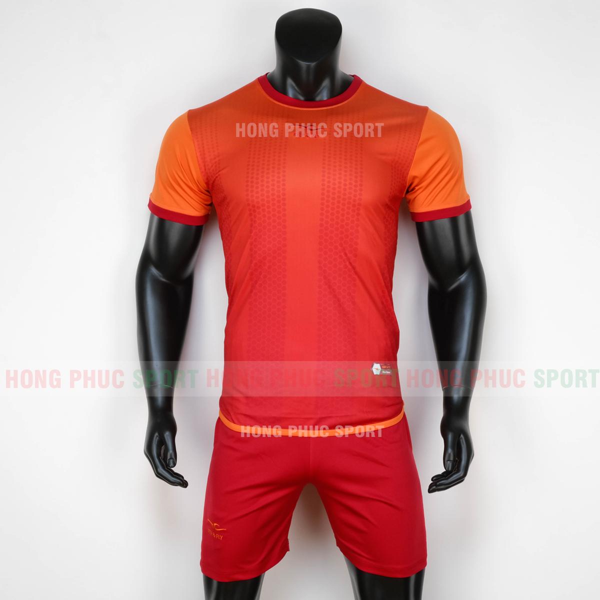 Áo bóng đá không logo Horizon Keep Fly 2020 màu đỏ