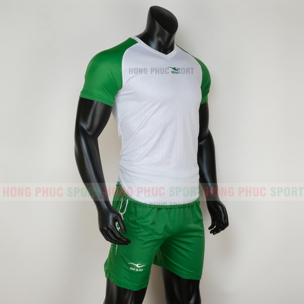 Áo đá bóng với chất vải cao cấp chống tia cực tím của mặt trời