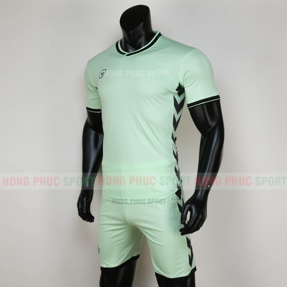 Áo đá bóng không logo ARMORED 2020 xanh ngọc