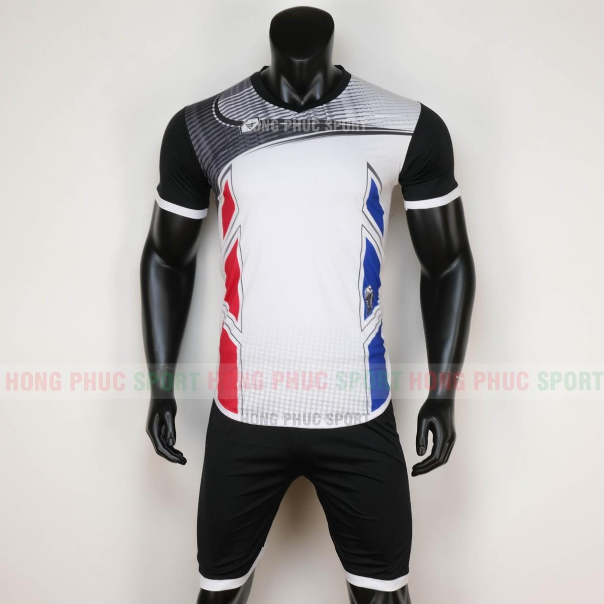 Áo bóng đá không logo ENDLESS 2020 đen trắng