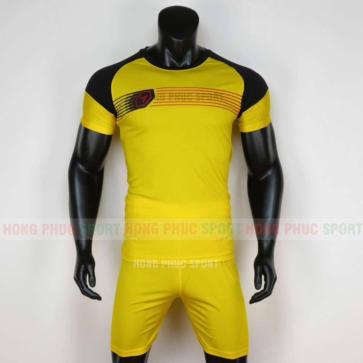 Áo bóng đá không logo PROSPEC 2020 màu vàng