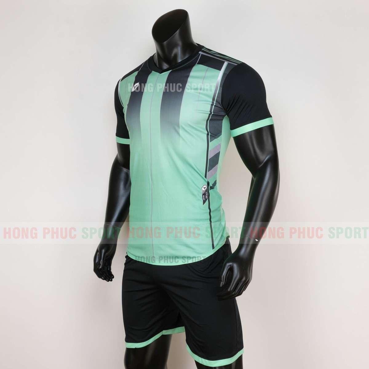 Áo đá bóng không logo TARGET 2020 màu xanh