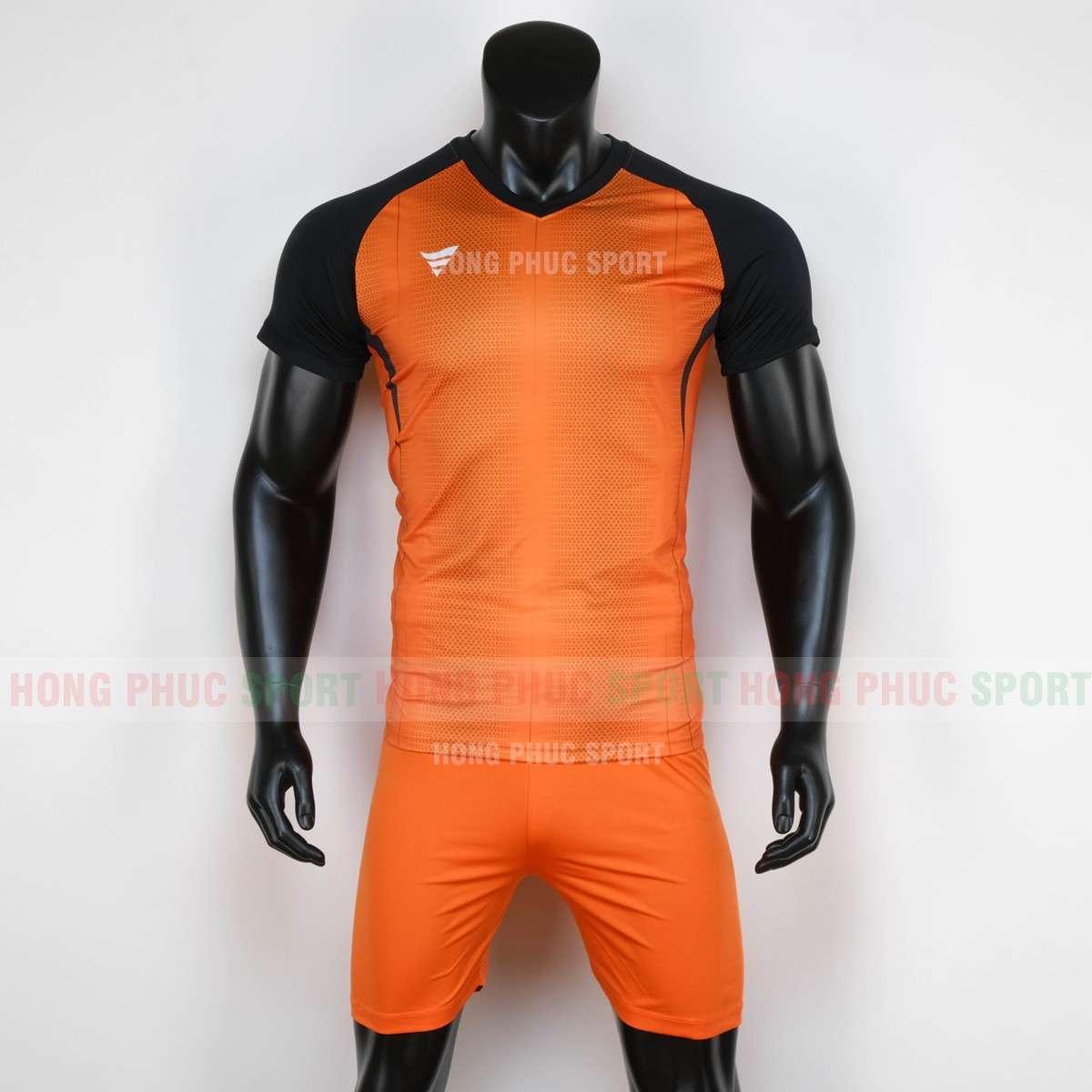 Áo bóng đá không logo WINROAD 2020 màu cam