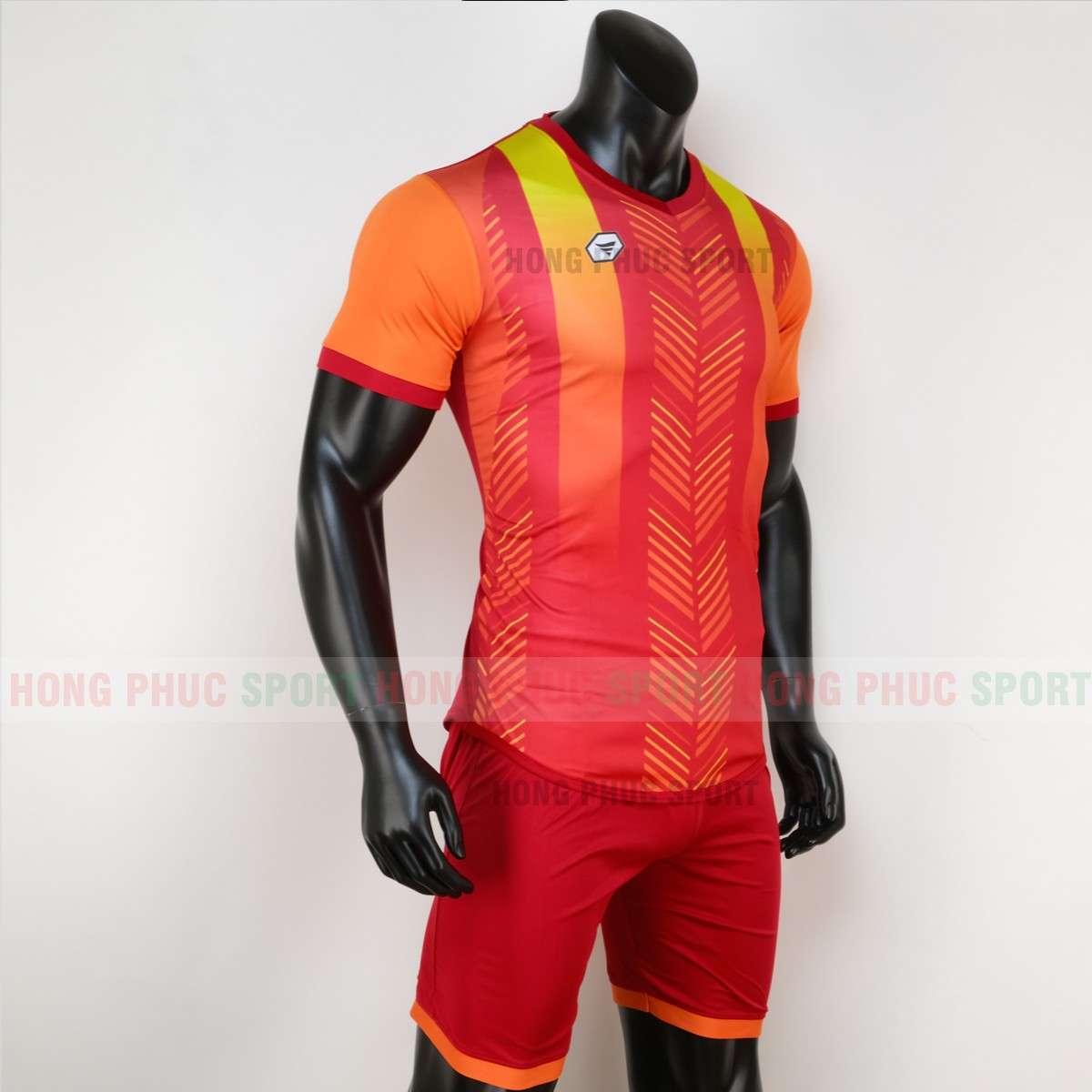 Mẫu áo đấu không logo DEEP 2020 màu đỏ tự thiết kế