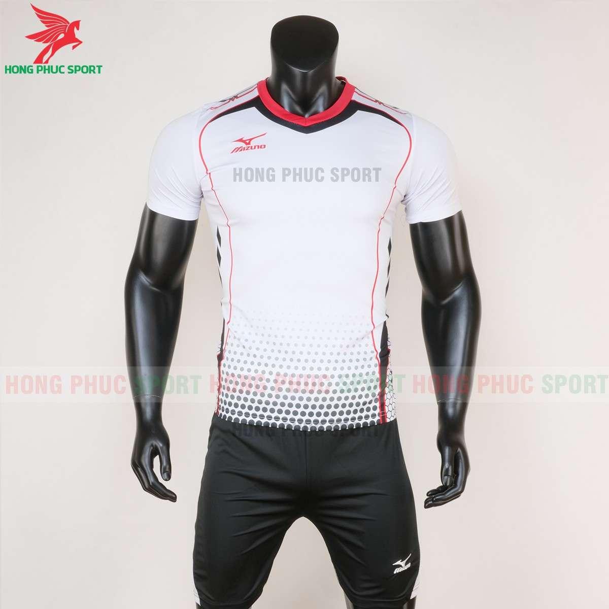 Quần áo bóng chuyền Mizuno 2020 màu trắng