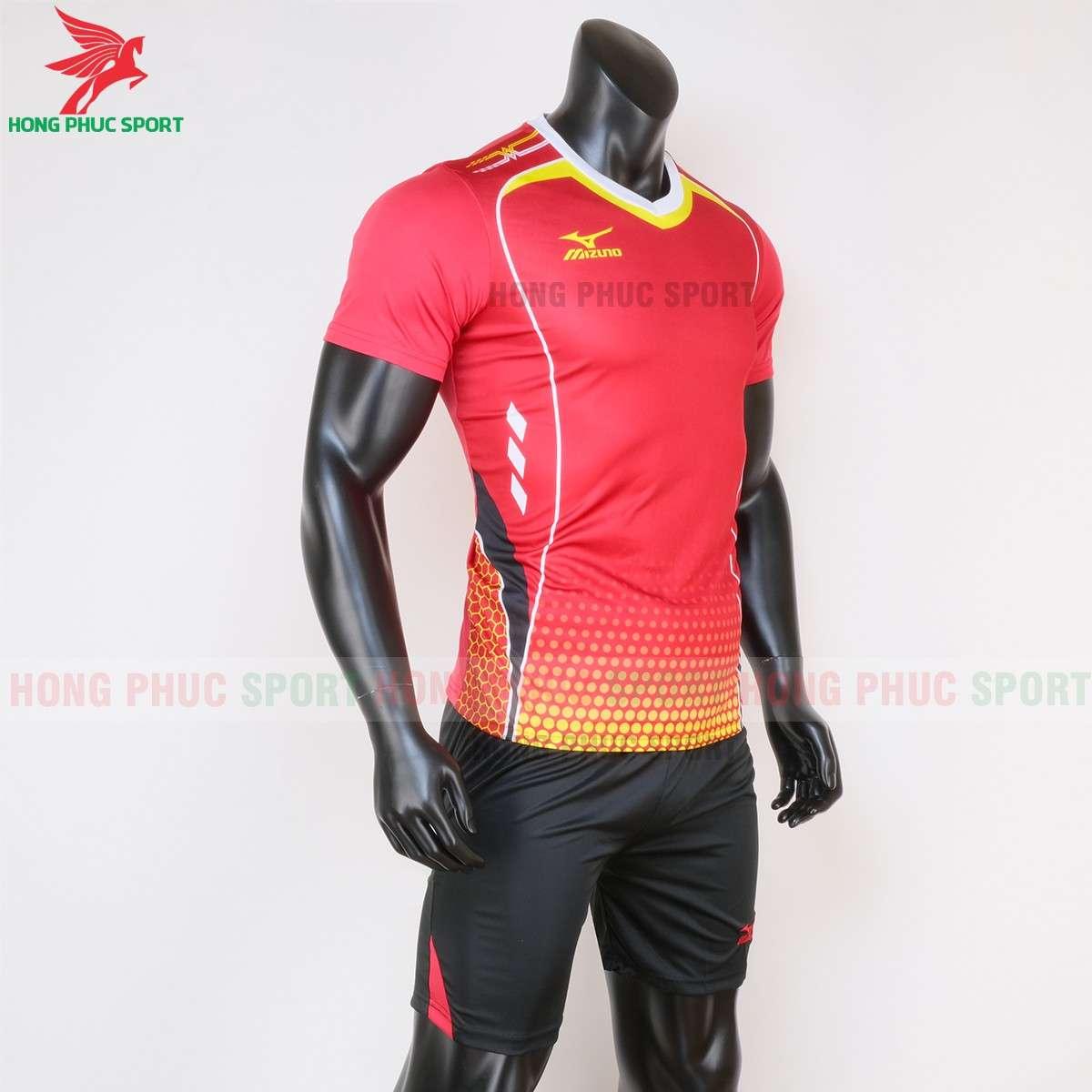 Quần áo thi đấu bóng chuyền Mizuno 2020 màu đỏ