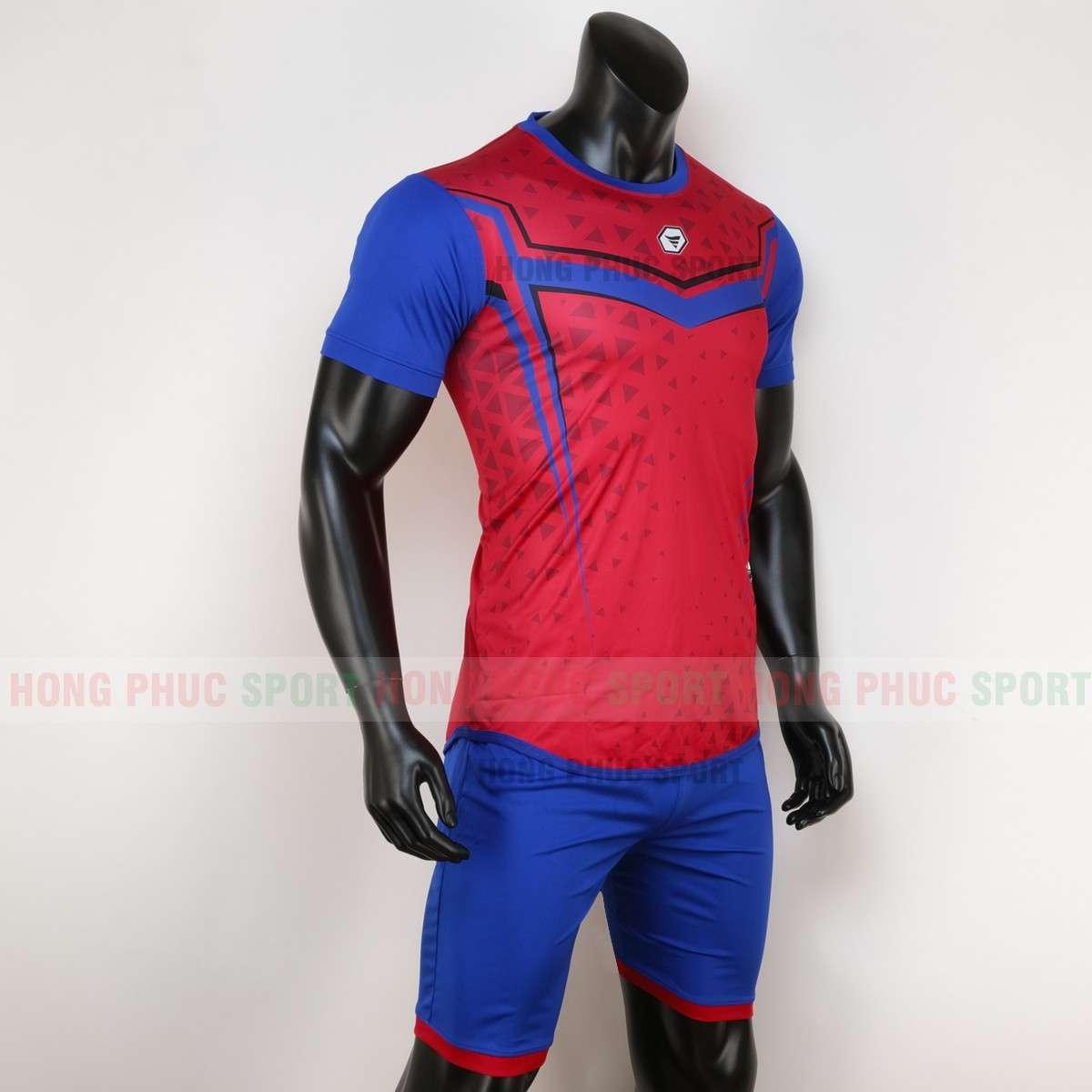 Mẫu áo đấu không logo MUTANST 2020 màu đỏ tự thiết kế
