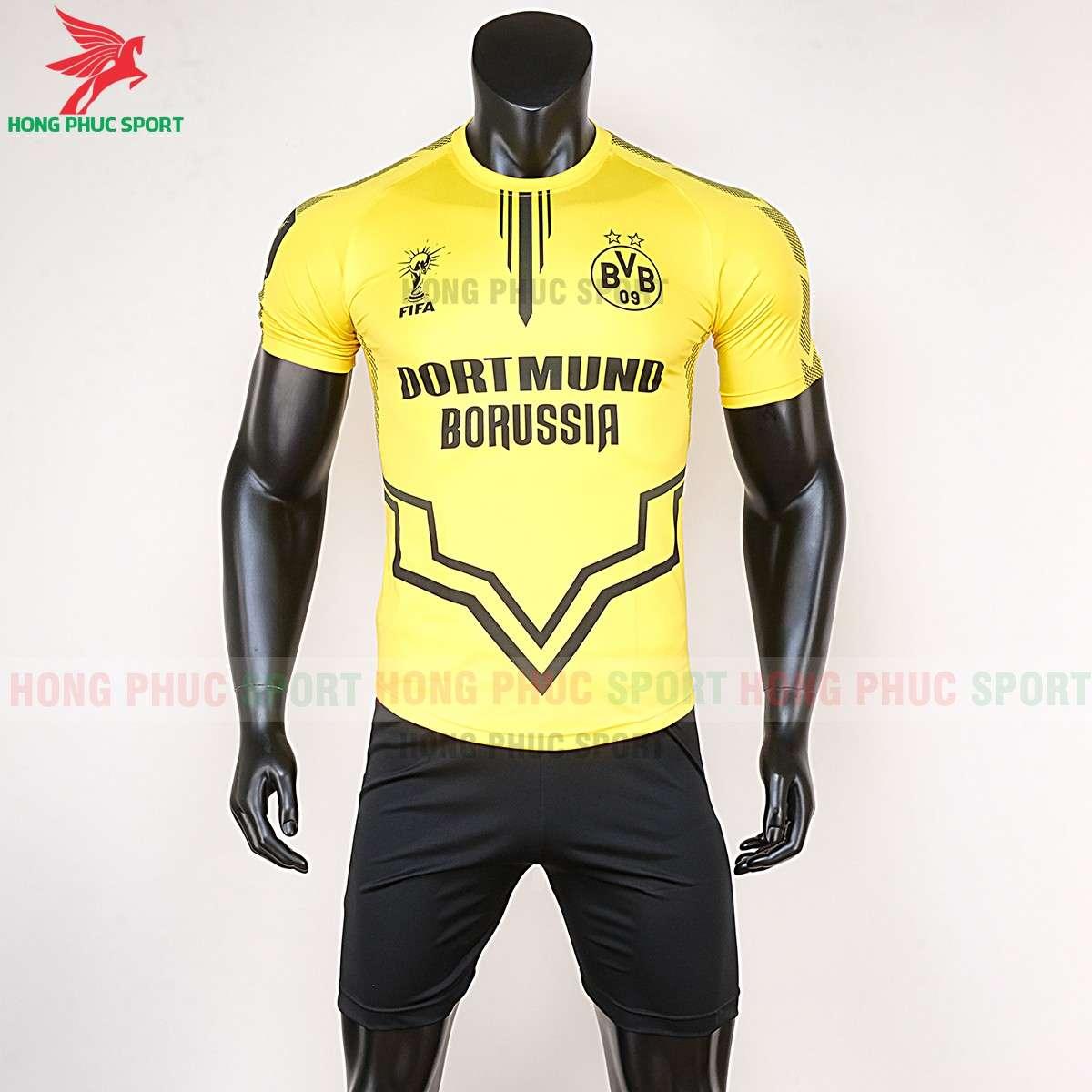 Áo bóng đá Dortmund 2020 2021 phiên bản fan