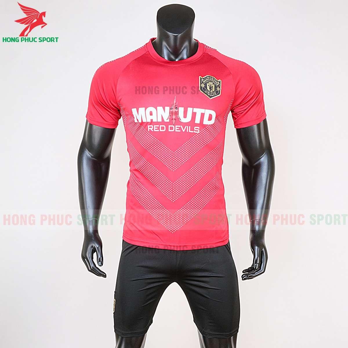 Mẫu áo bóng đá Manchester United 2020 Red Devils màu đỏ