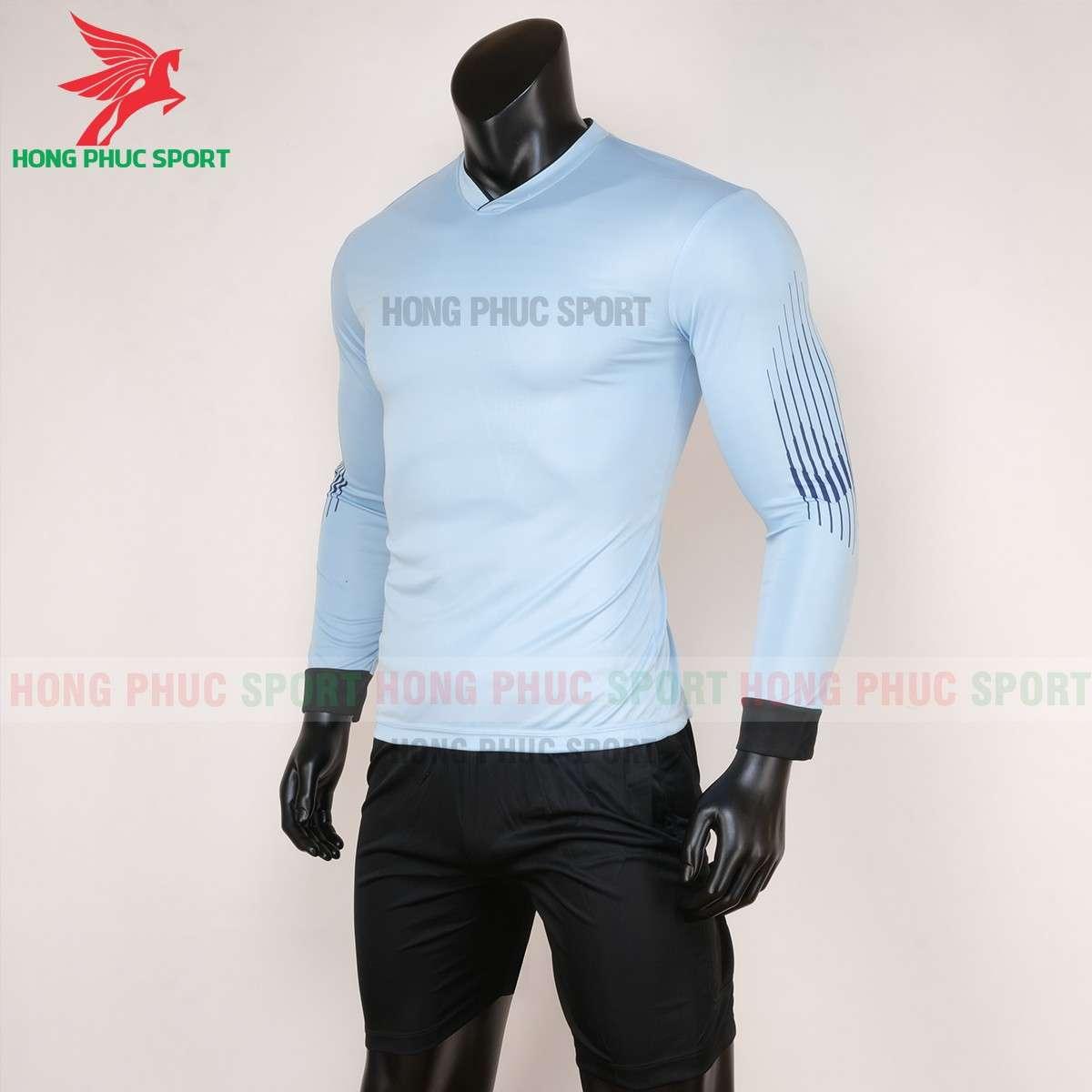 Bộ quầnáo đấu thủ môn tay dài 2020 màu xanh ghi