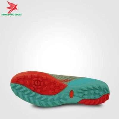Thiết kế đế giày đá bóng Mitre 181229 màu xanh ngọc