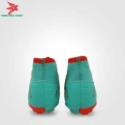 Gót giày đá bóng Mitre 181229 xanh ngọc phối đỏ