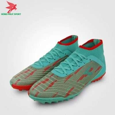 Giày đá bóng Mitre 181229 màu xanh ngọc phối đỏ
