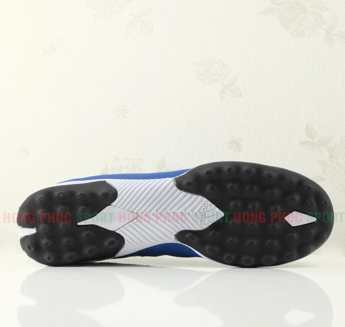 Giày bóng đá Nemeziz 19.3 màu xanh đế TF cao su