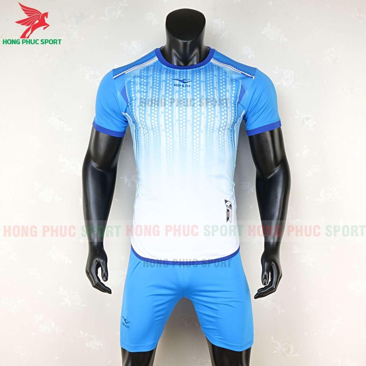 Mẫu áo bóng đá không logo MAGIC xanh ngọc 2020 tự thiết kế