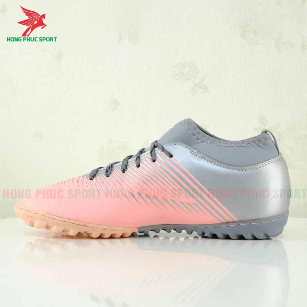 Má trong giày Hồng Phúc Sport 20.3 tf màu hồng/xám