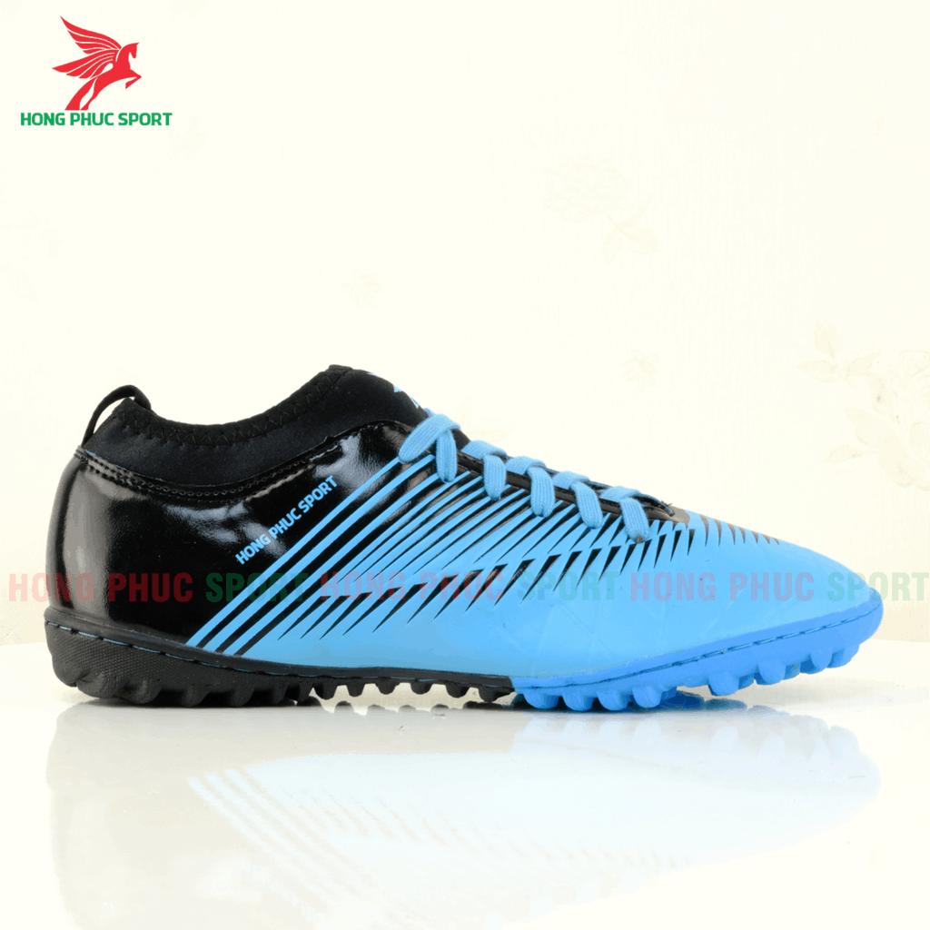 Má ngoài giày Hồng Phúc Sport 20.3 tf màu xanh dương/đen