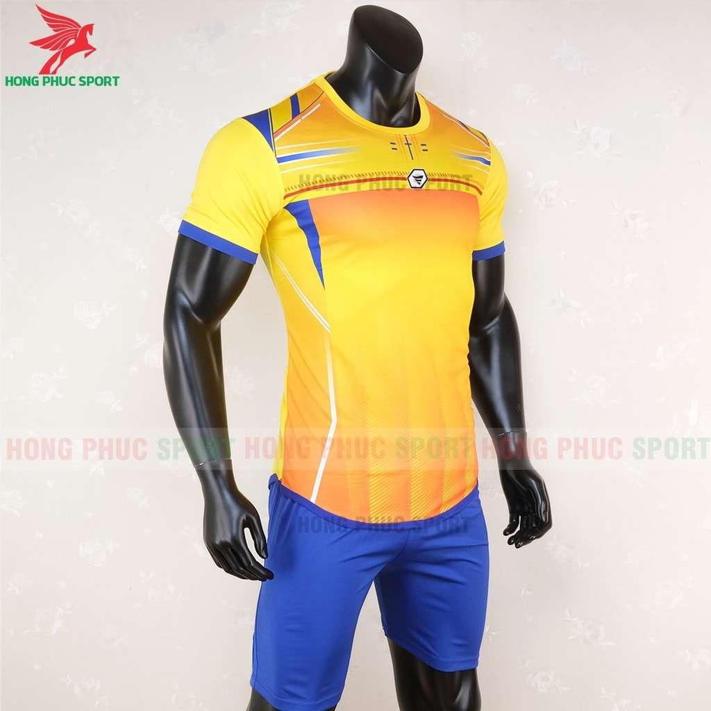 Áo không logo Keepfly TA-A02 màu vàng để trống trước sau và vai áo