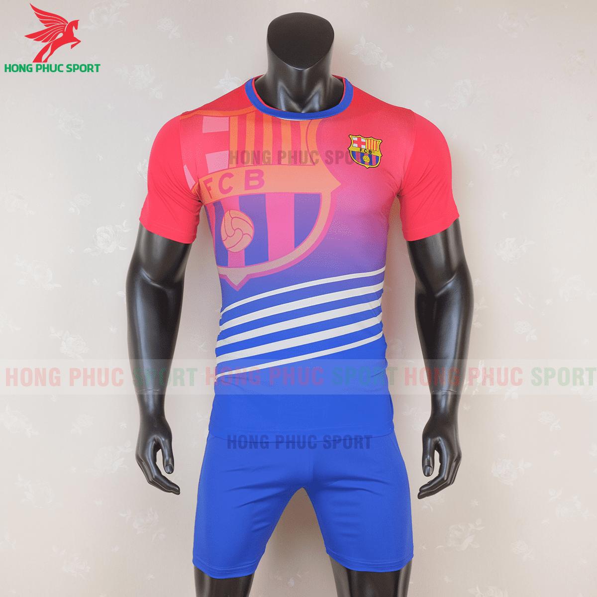 Áo đấu Barcelona 2020 2021 phiên bản FAN mẫu 3