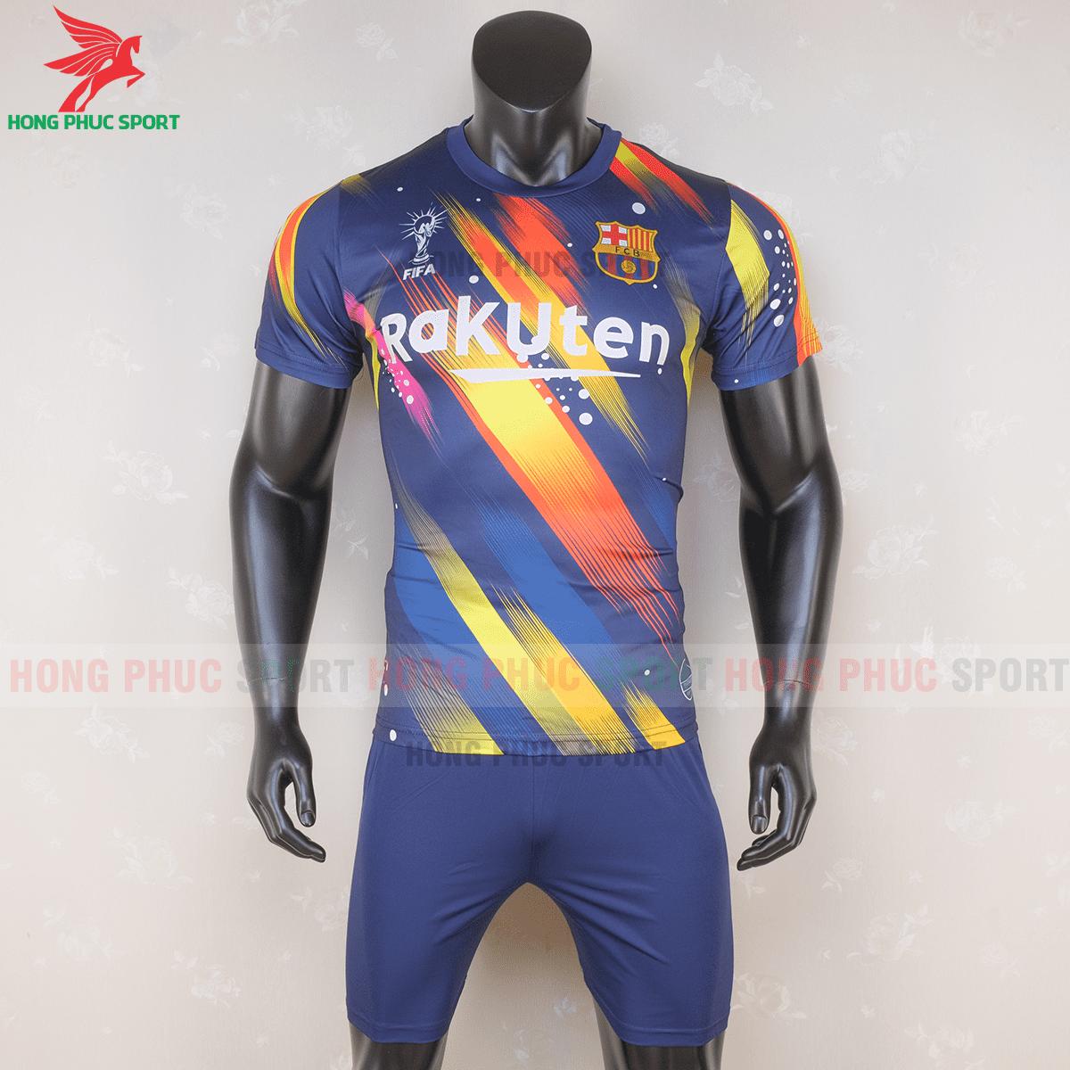 Áo đấu Barcelona 2020 2021 phiên bản FAN mẫu 1