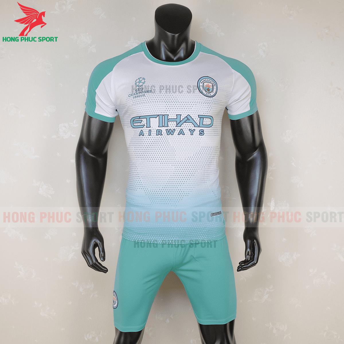 Áo đấu  Manchester City 2020 2021 phiên bản fan mẫu 2