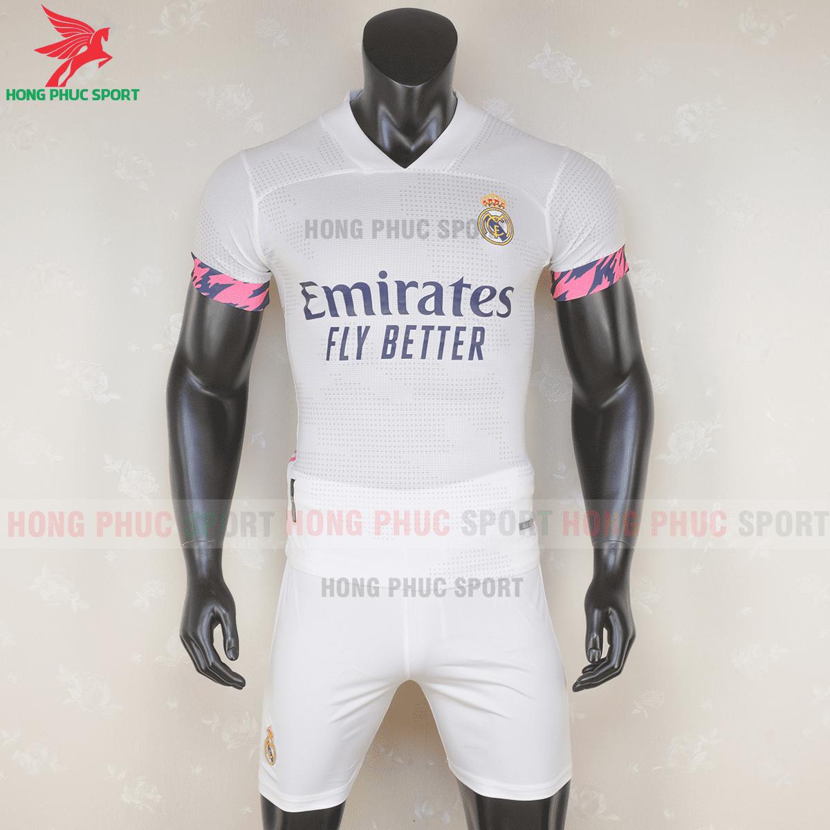 Áo đấu Real Madrid 2020 2021 sân nhà