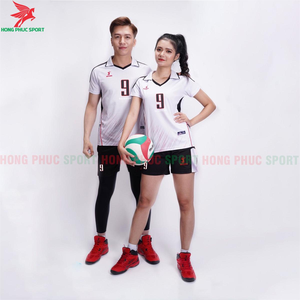 Áo bóng chuyền Beyono 2020 Captain màu trắng