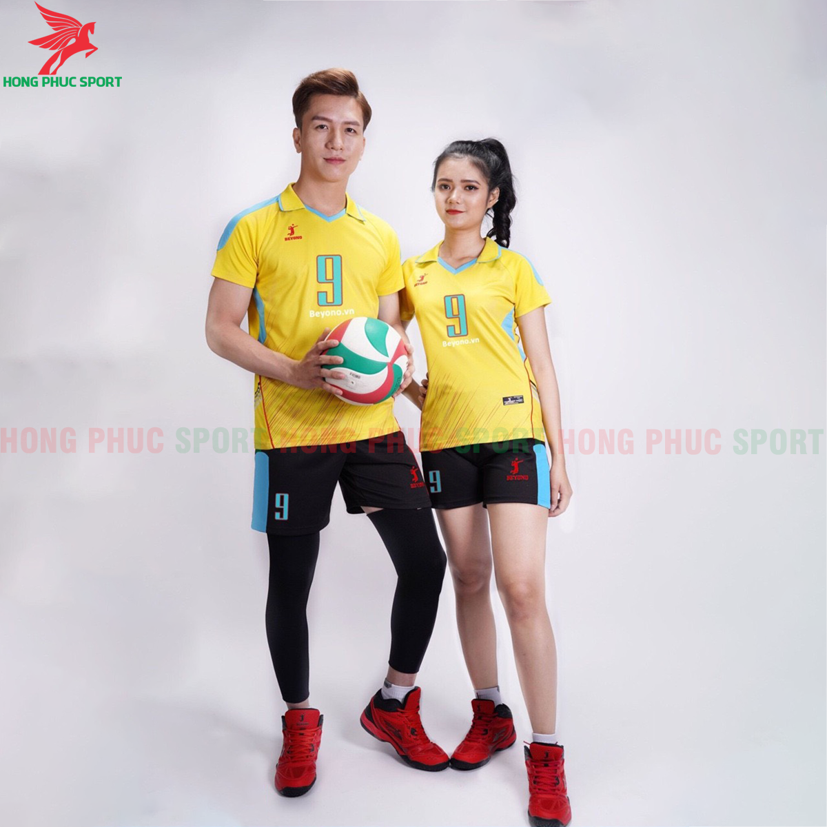 Áo bóng chuyền Beyono 2020 Captain màu vàng