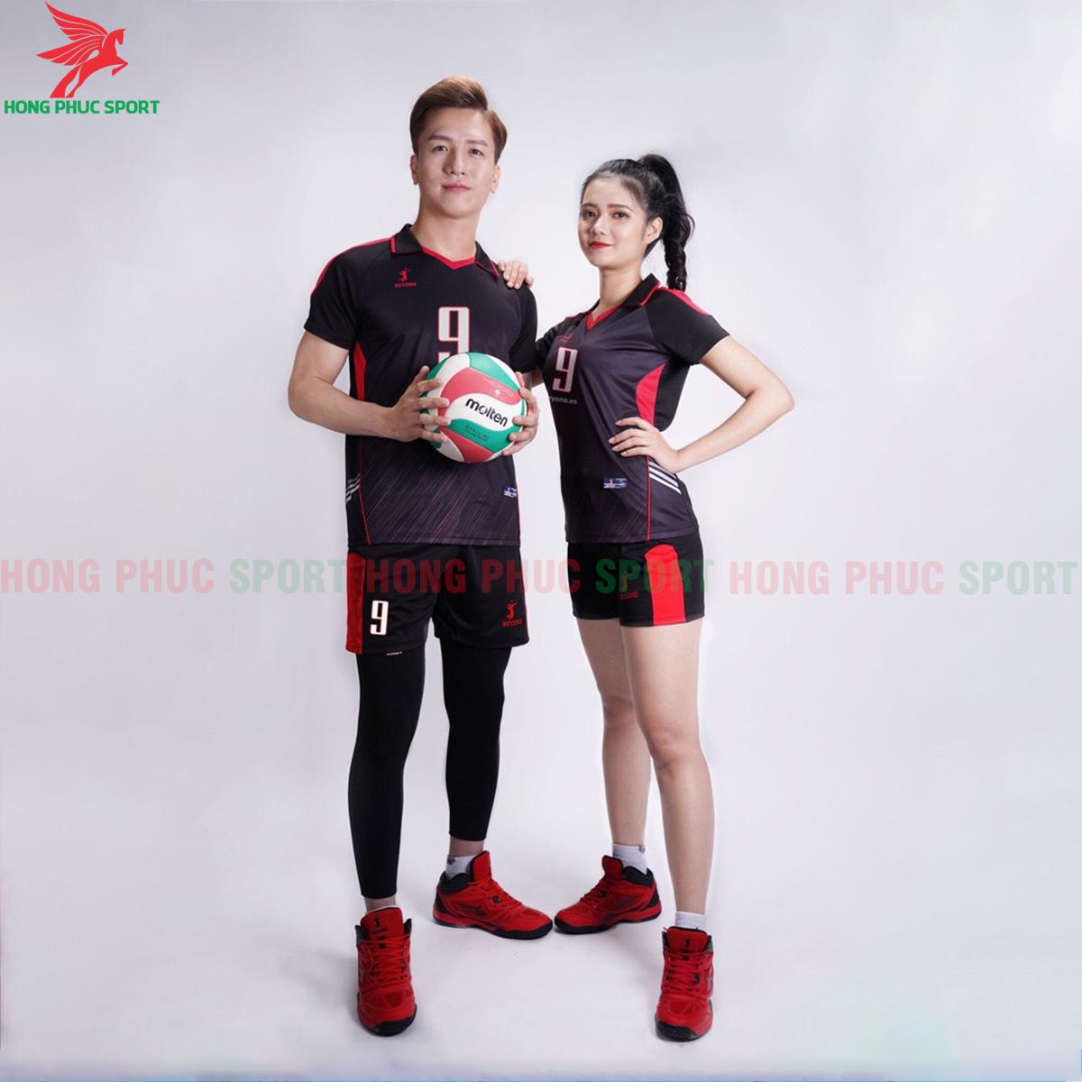 Áo bóng chuyền Beyono 2020 Captain màu đen