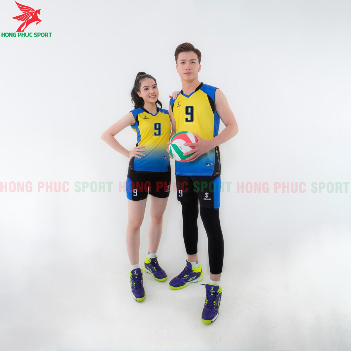 Áo bóng chuyền Beyono 2020 Gunner màu vàng