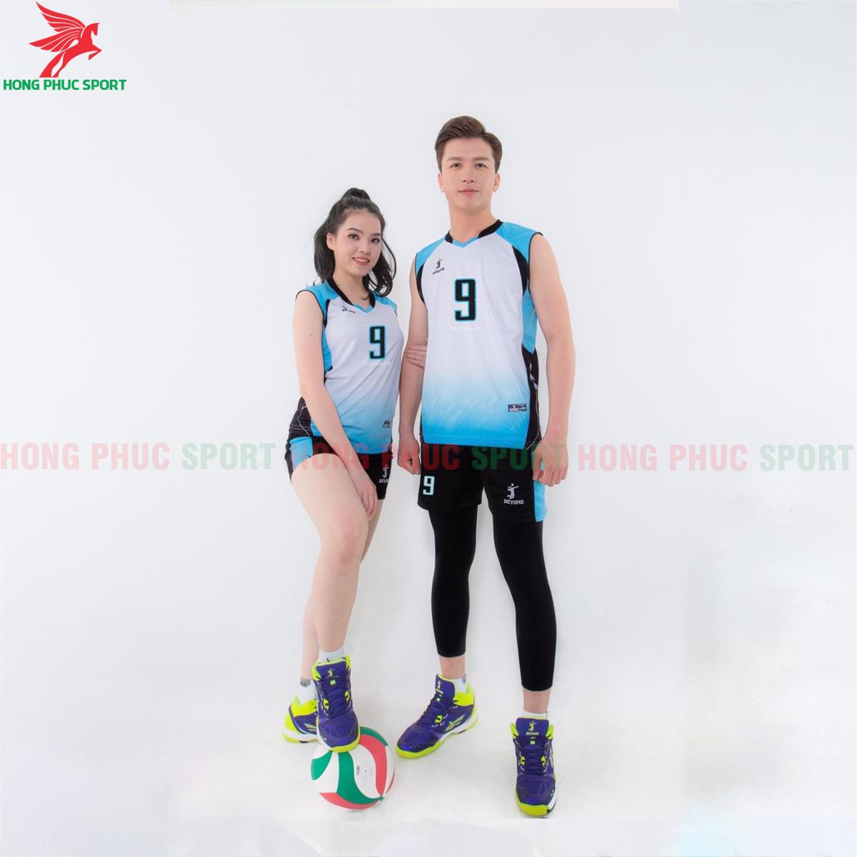 Áo bóng chuyền Beyono 2020 Gunner màu xanh
