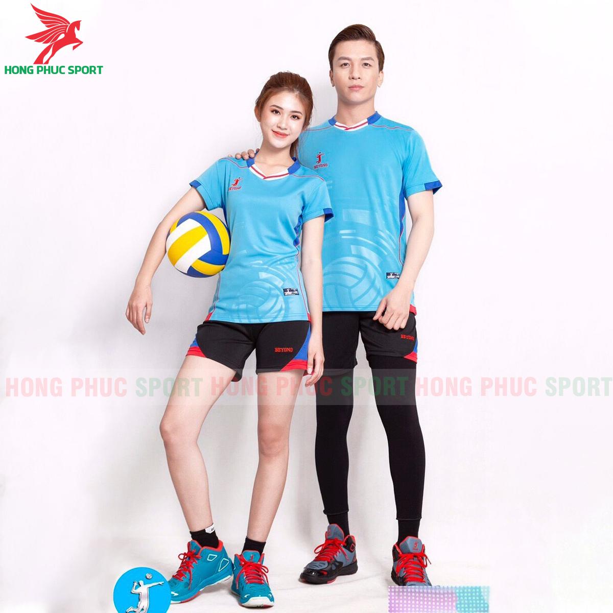 Áo bóng chuyền Beyono 2020 Legend màu xanh