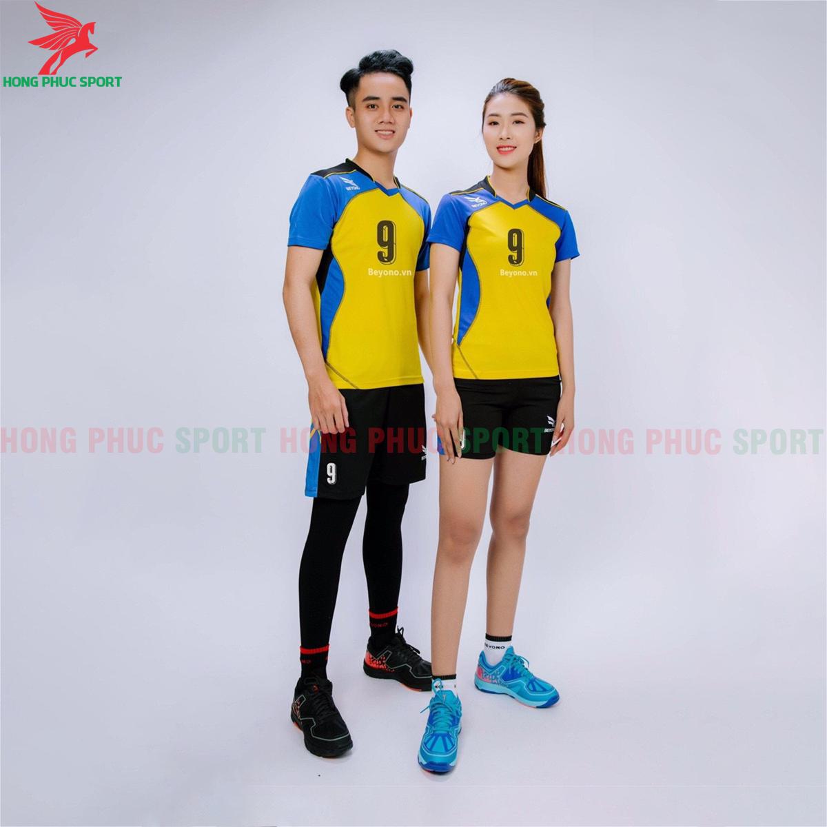 Áo bóng chuyền Beyono 2020 mẫu số 1 màu vàng