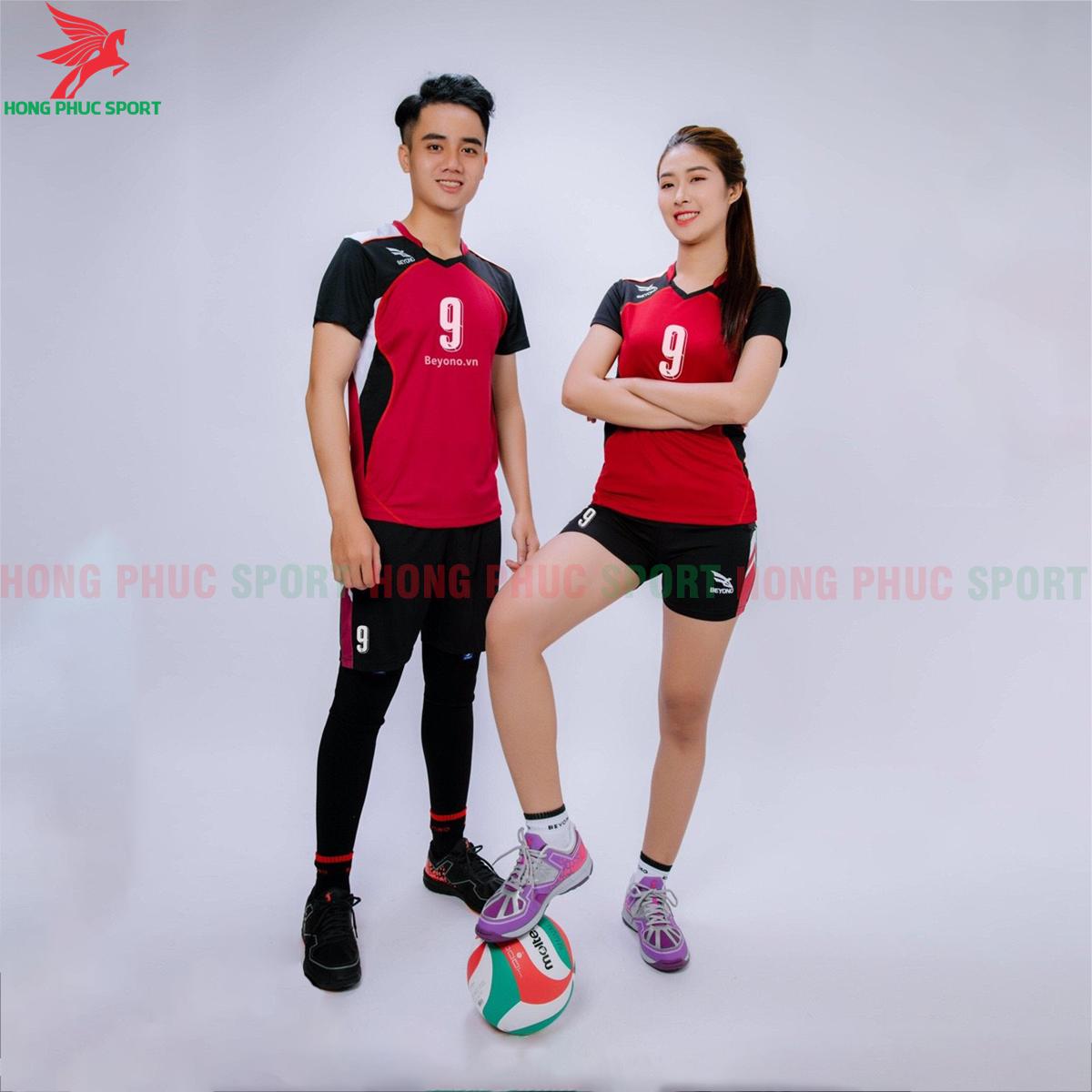 Áo bóng chuyền Beyono 2020 mẫu số 1 màu đỏ