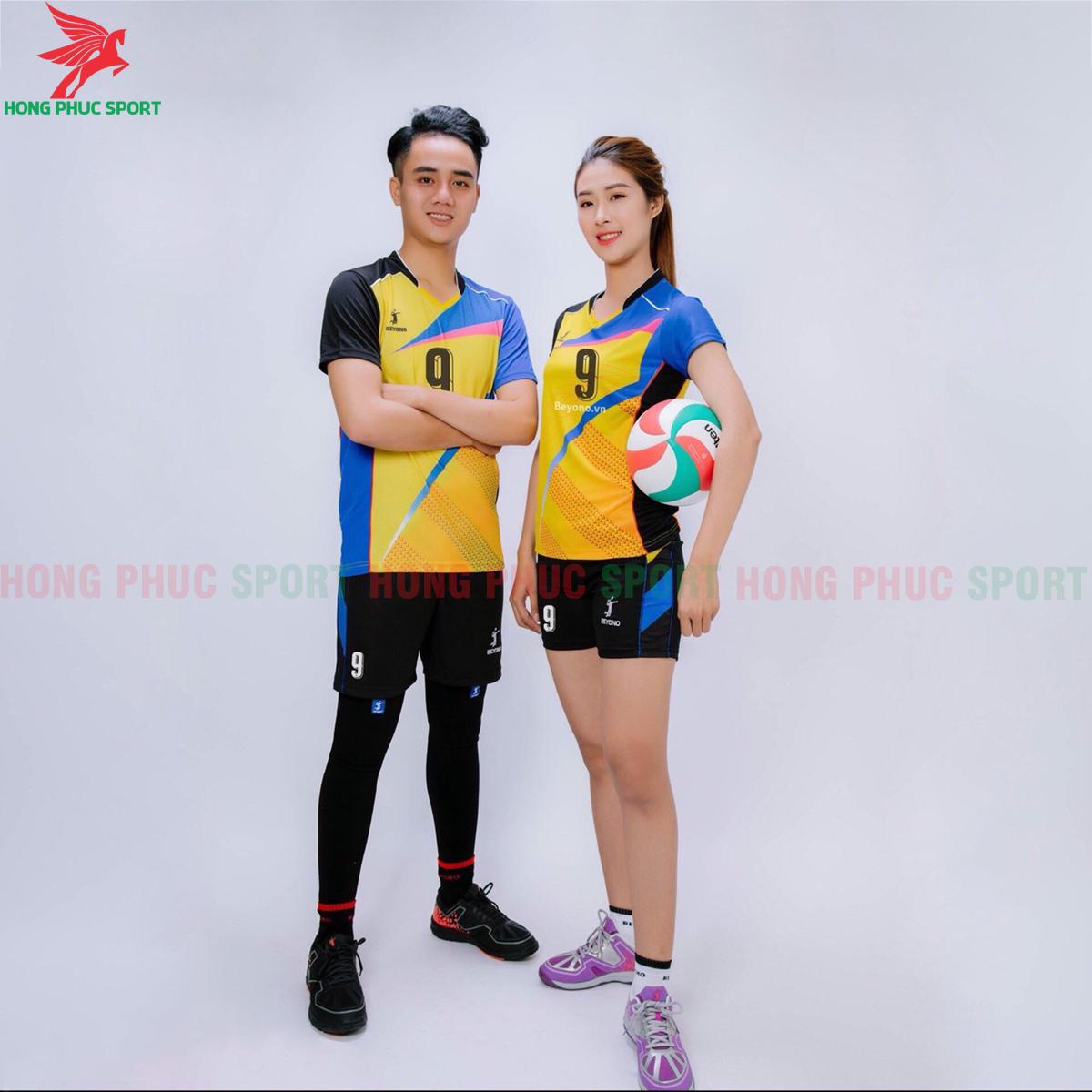 Áo bóng chuyền Beyono 2020 Victory màu vàng