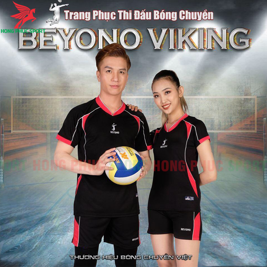 Áo bóng chuyền Beyono 2020 Viking màu đen