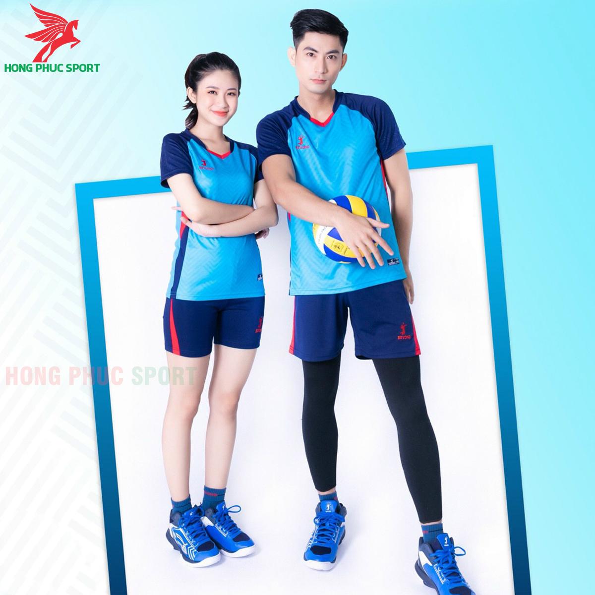 Quần áo bóng chuyềnBEYONO Flash màu xanh