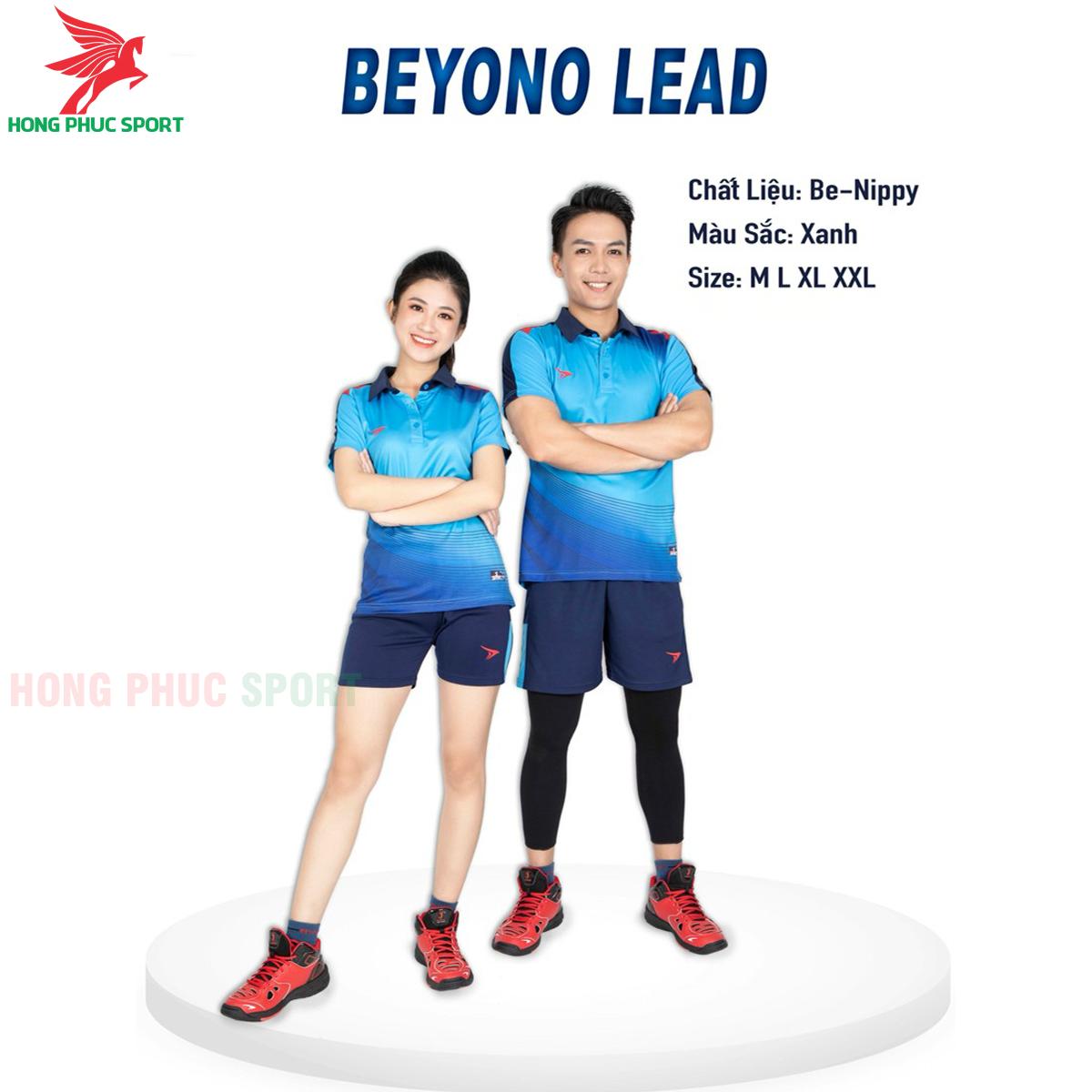 Quần áo bóng chuyềnBEYONO Lead màu xanh