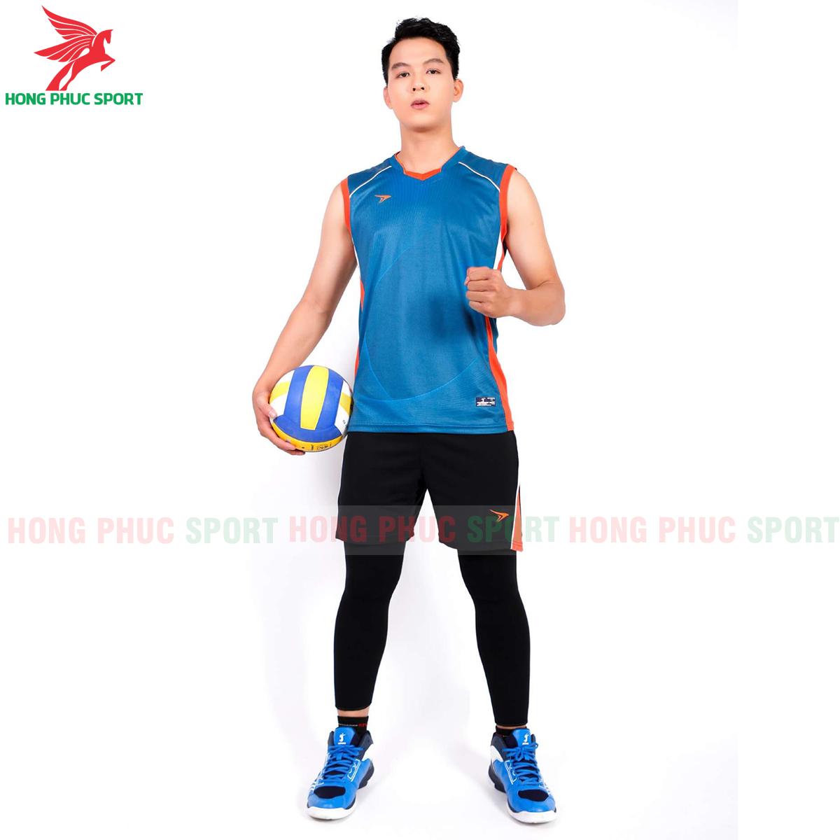 Áo bóng chuyền Beyono Lighting 2020 màu xanh