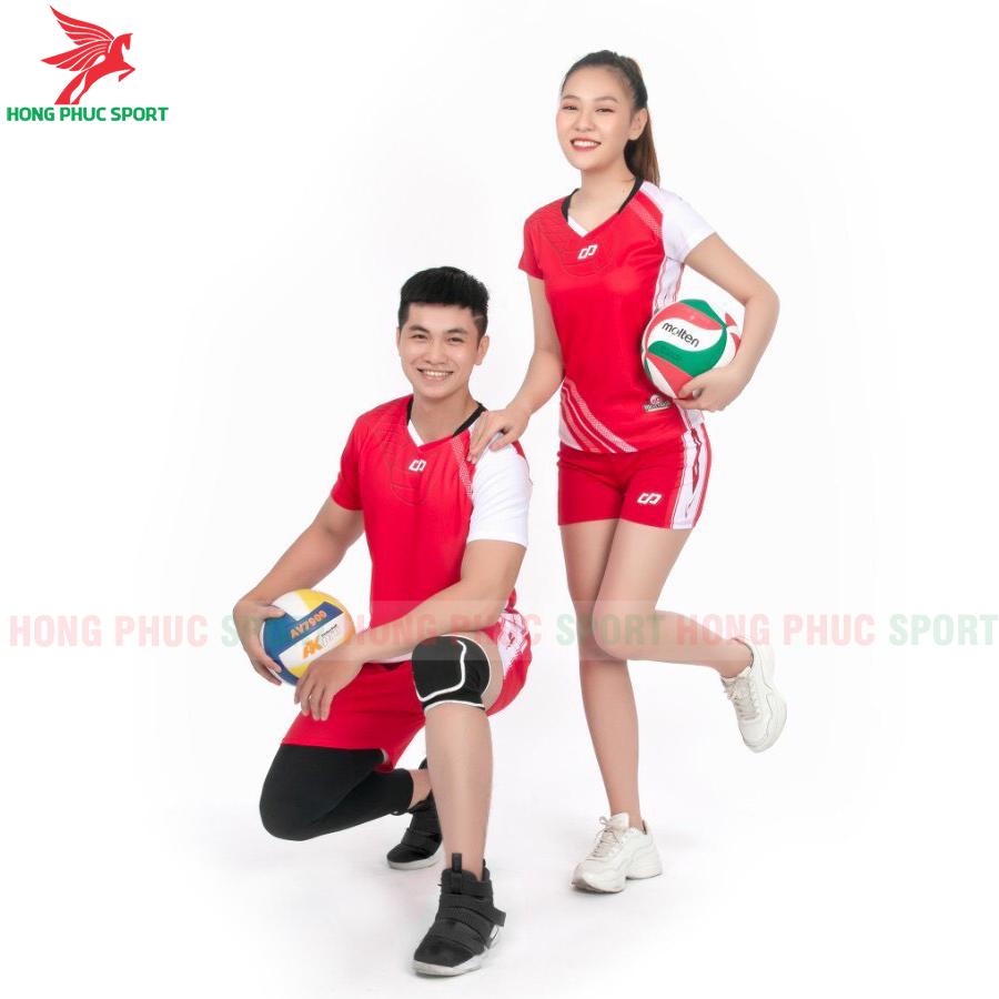 Áo bóng chuyền CP Sport 2020 màu đỏ