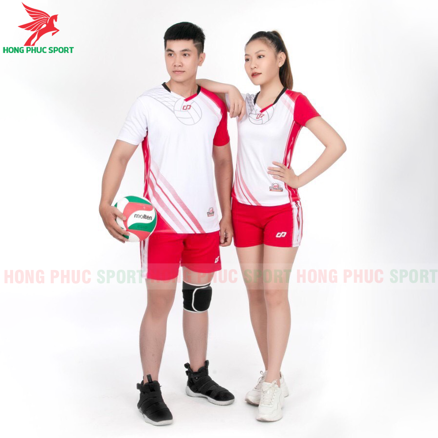 Áo bóng chuyền CP Sport 2020 màu trắng