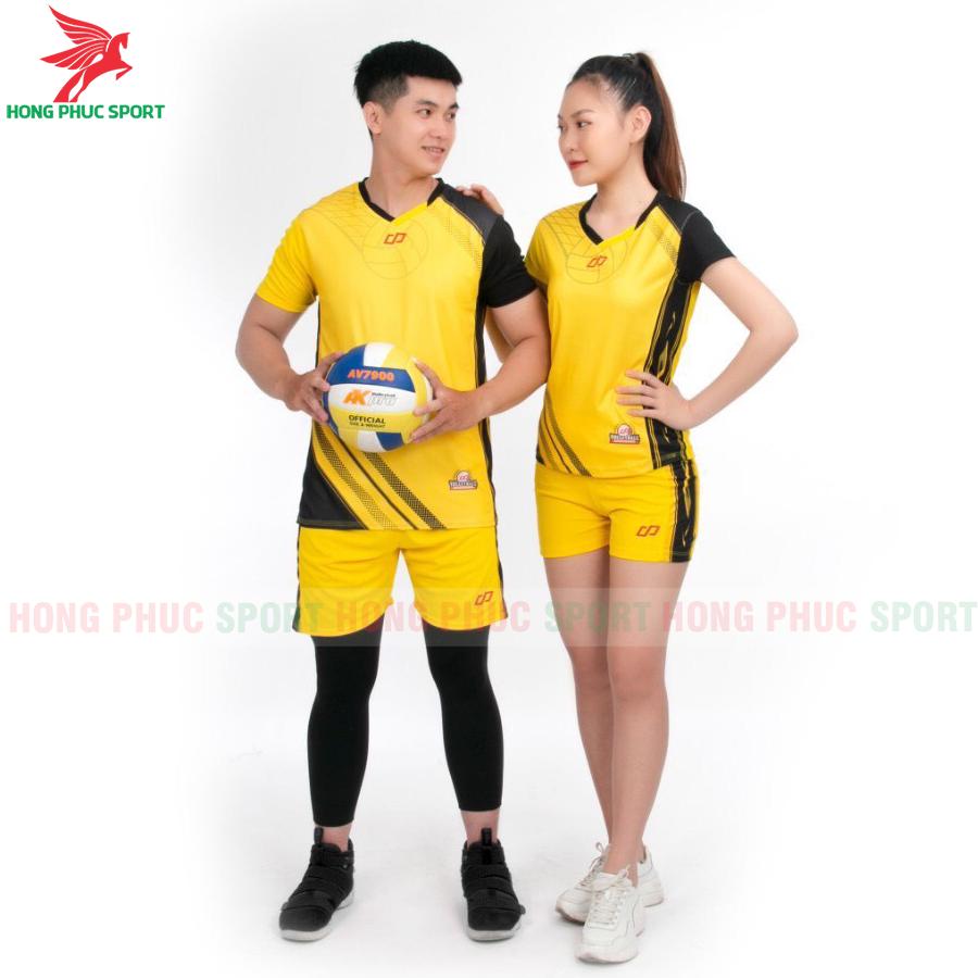 Áo bóng chuyền CP Sport 2020 màu vàng